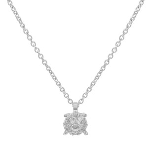 Bliss Solitaire Diamond Pendant On A Chain 0.08twt (14429)