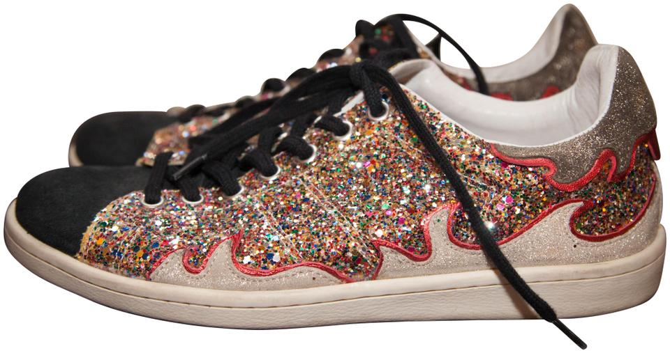 e7348df6a56 Étoile Isabel Marant Sparkles Glitter & Suede Gilly Sneakers Size EU ...