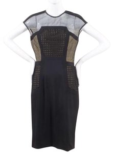 Lela Rose Evening Fitted Polyester Dress