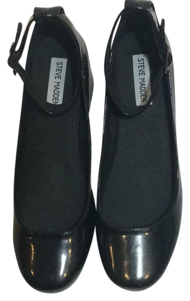 e09fdd3bb48 Black Wails Mary Jane Flats