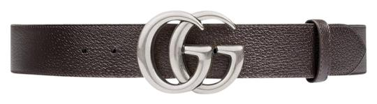 Preload https://item2.tradesy.com/images/gucci-dark-brown-leather-with-double-g-buckle-belt-22572736-0-1.jpg?width=440&height=440