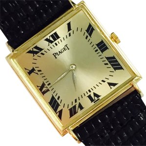 Piaget CERTIFIED $9,000 PIAGET RARE ESTATE MENS LADIES COLLECTORS WATCH 18KT SOLID GOLD.