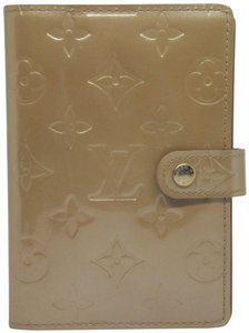 Louis Vuitton Authentic Louis Vuitton Monogram Vernis PM Agenda Wallet