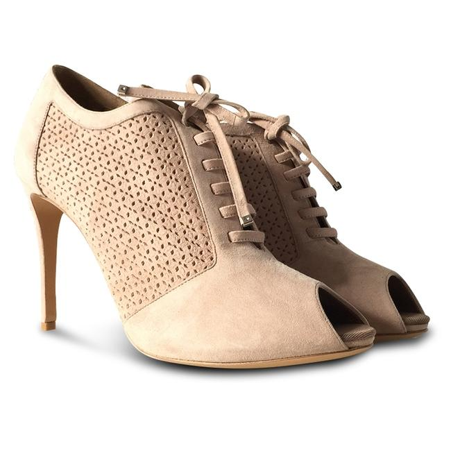 Item - Beige New Paonessa Suede Lace-up Boots/Booties Size US 9.5 Regular (M, B)