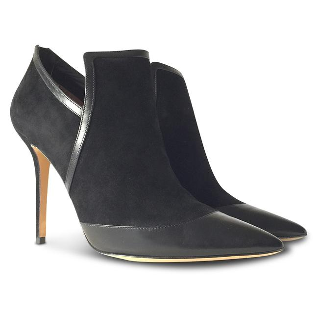 Item - Black New Nume Glass Suede Ankle - Boots/Booties Size US 10 Regular (M, B)