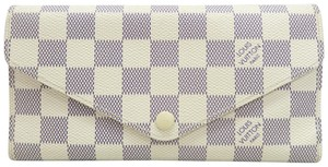 Louis Vuitton Louis Vuitton Damier Azur Sarah Wallet NM