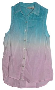 Mudd Top ombr blue and purple