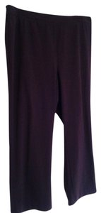 Catherines Straight Pants Purple