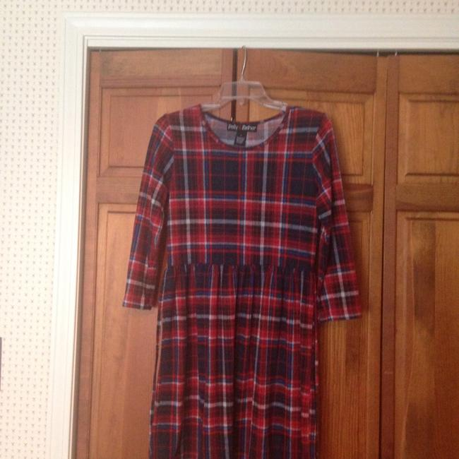 Item - Plaid Short Casual Dress Size 12 (L)