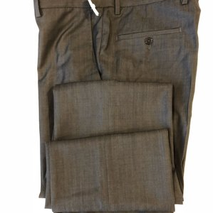 Versace Collection Straight Pants gray