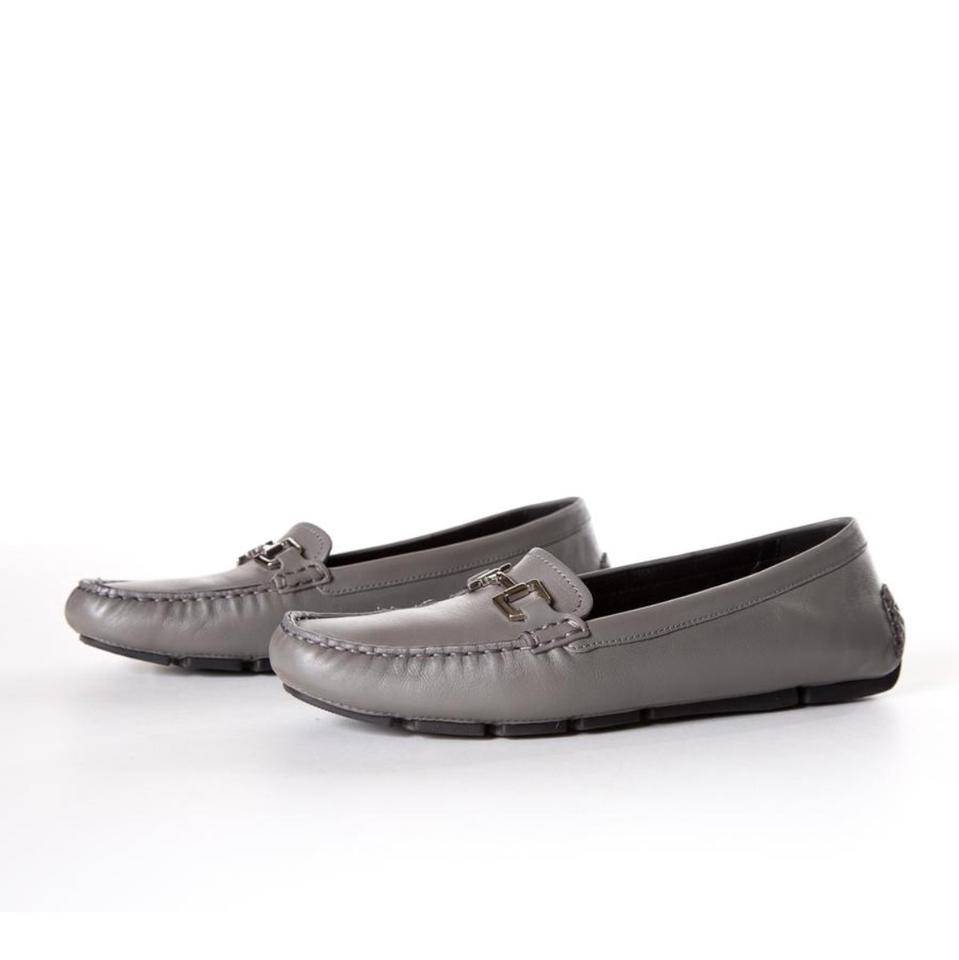 9975a1331865 Gucci Grey Ladies Driving Shoes Loafers Flats Flats Size US 9 ...