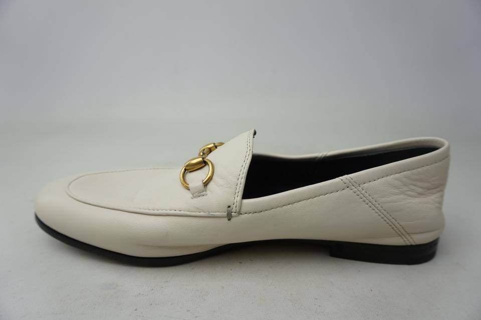 24f0a3194ca Gucci White Women s Brixton Convertible Loafer Leather Flats Size EU 36.5  (Approx. US 6.5) Regular (M