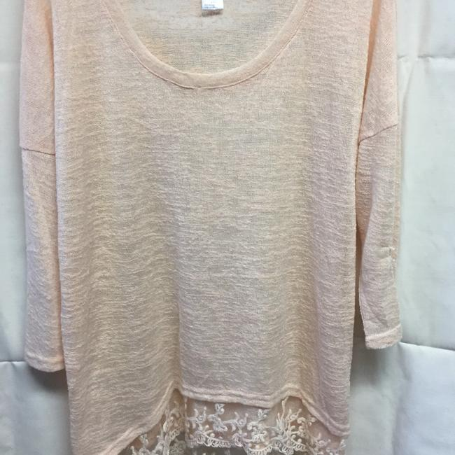 Item - Pale Pink Pull Over Tunic Blouse Size 22 (Plus 2x)