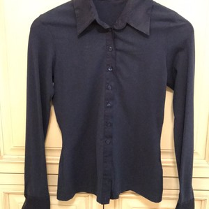 Anne Fontaine Top Blue