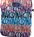 Marc Jacobs iPad cover. faux fur lining. chunky zipper. multi color super fun Image 0