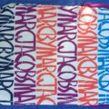 Marc Jacobs iPad cover. faux fur lining. chunky zipper. multi color super fun Image 1
