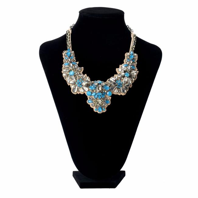 Item - Multi-color Women's Crystal Collar Statement Necklace