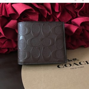 Coach coach men's wallet with gift box Tissues