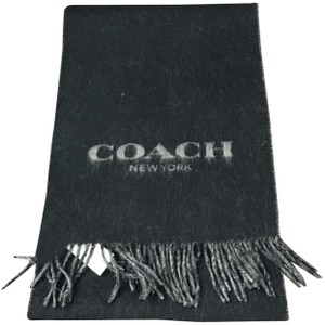 Coach coach men's scarf with gift box