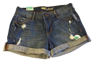 Old Navy Shorts Medium Wash Blue Denim