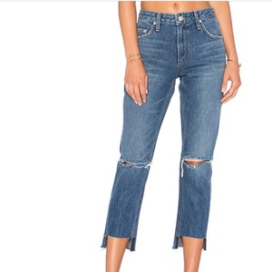 Lovers + Friends Straight Leg Jeans-Distressed