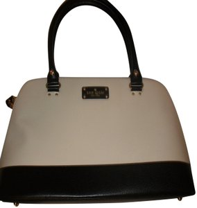 Kate Spade Handbag New Satchel in Black and White