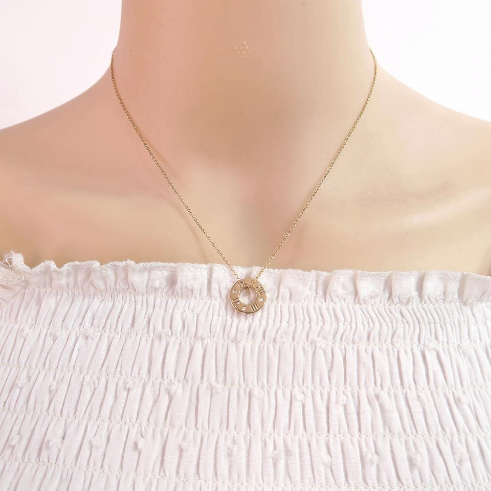 necklace gold key pendant atlas tiffany rose co