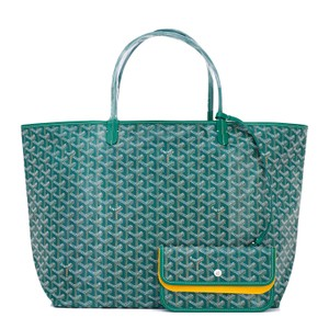 Goyard St Louis St Louis Gm St Louis Gm Tote in Green