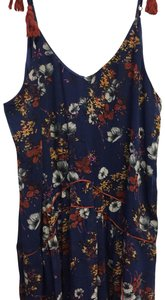 Mossimo Supply Co. short dress Blue floral on Tradesy