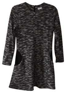 Elorie short dress Black and White on Tradesy