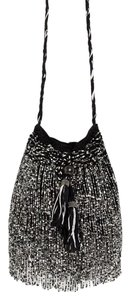 Zara Fringe Beaded Night Out Tassels Cross Body Bag