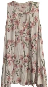 Audrey 3+1 Free People Floral Tunic