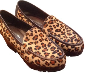 Donald J. Pliner Leopard Wedges