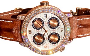 Jacob & Co. SAVE ~$30,000!! 32 Time Zone GMT Rose Gold