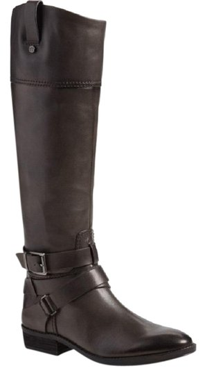 Preload https://img-static.tradesy.com/item/22579158/vince-camuto-dark-gray-pazell-tall-leather-buckled-strap-riding-bootsbooties-size-us-5-regular-m-b-0-1-540-540.jpg
