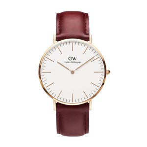 Daniel Wellington Daniel Wellington Brown DW00100120 Rose Gold Classic Suffolk Watch