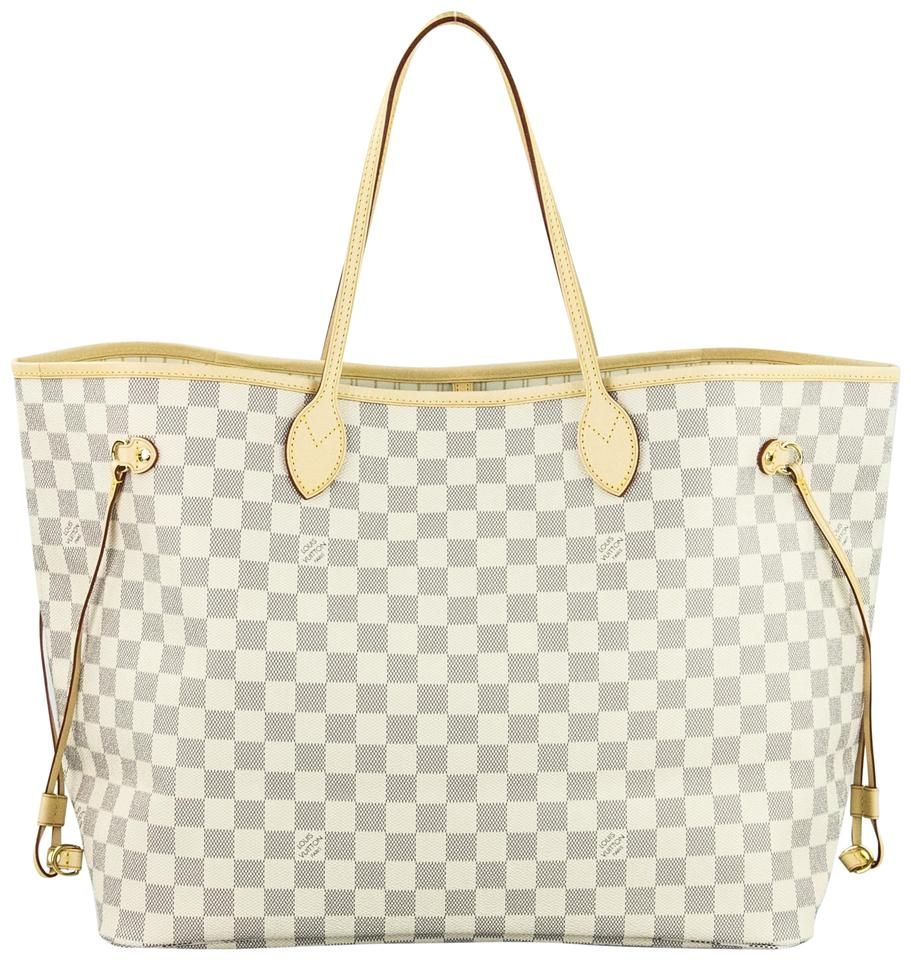 Louis Vuitton Neverfull Gm Monogram Tote in Damier Azur Image 0 ... 95792ce2ab6ca