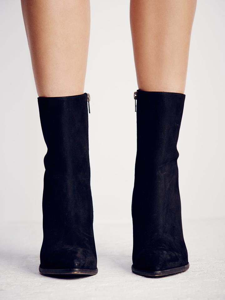 2a048c948cc42 Free People Freepeopleboots Suedeboots Pointedtoeboots Cuvedheelboots Black  Suede Boots Image 3. 1234