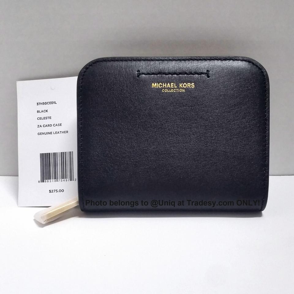8af6edacb868 Michael Kors FINAL CLEARANCE ($275 RV) MK Collection Zip Around Coin Purse  Wallet Image. 123456