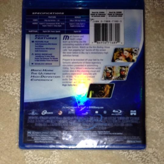 Miramax Brothers Grimm On Blu Ray Disc