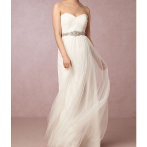 Jenny Yoo Ivory Tulle Annabelle From Bhldn Destination Wedding Dress Size 4 (S)