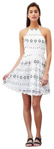 Lovers + Friends short dress White and Navy on Tradesy