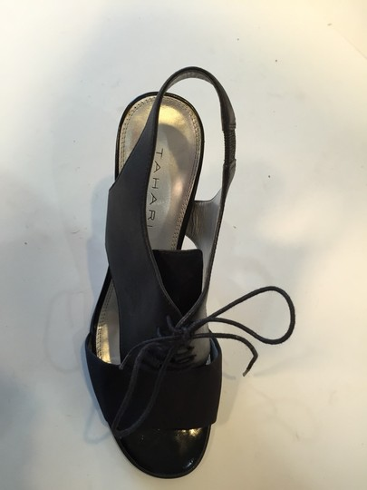 Tahari Black Sandals