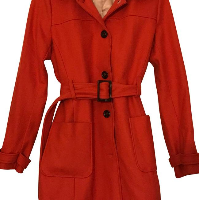 Item - Orange Trendy Coat Size 8 (M)