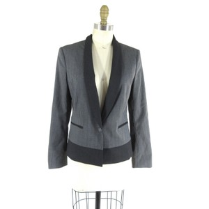 Rag & Bone Color-blocking Wool black/grey Blazer