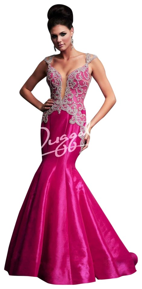 Mac Duggal Couture Teal Royalty 76730y Long Formal Dress Size 14 (L ...