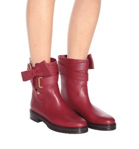 Valentino 40 10 Red Boots