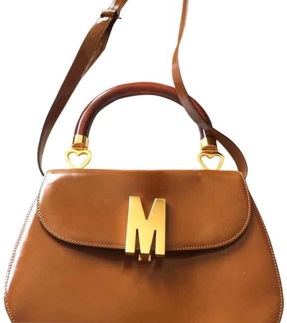 Item - Tan Leather Satchel