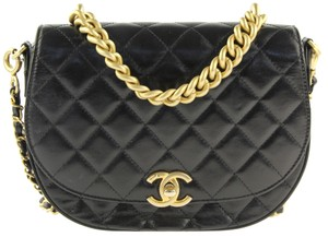 Chanel Messanger Double Flap Caviar Single Flap Cross Body Bag