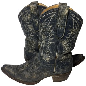 Old Gringo Cowgirl Size 7 Women Western Size 7 Blue Boots
